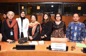 Event organized by the permanent mission of Pakistan at the UN