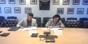 MoU Signing ceremony between WPC and WFD