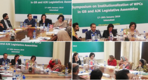 Symposium on Instutionalization of Legislative Assemblies