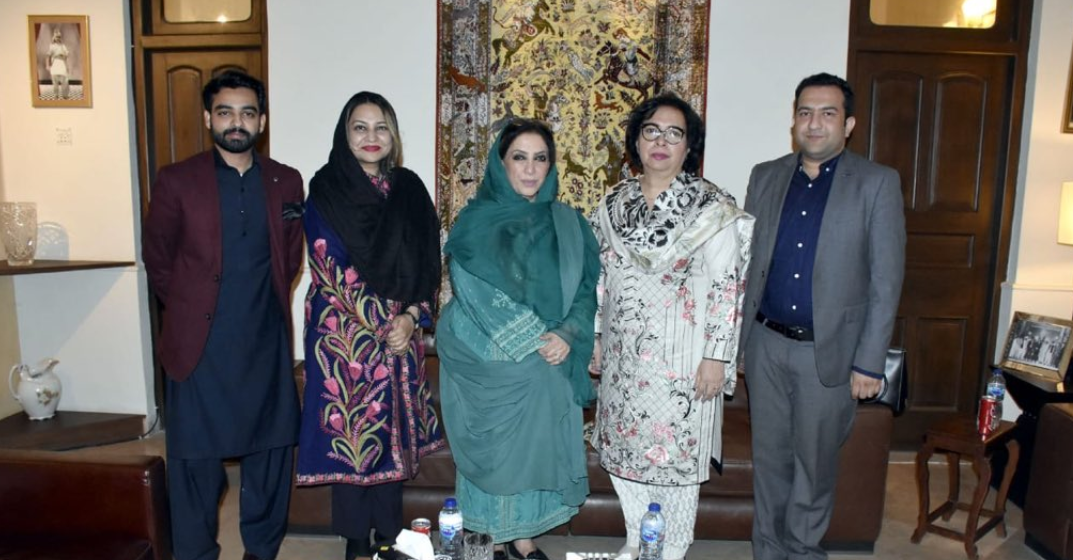 WPC Secretary meeting with Rubina Irfan