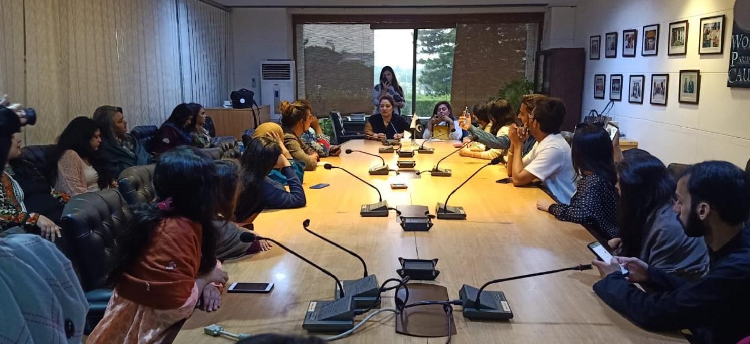 Transgenders Delegation visited WPC