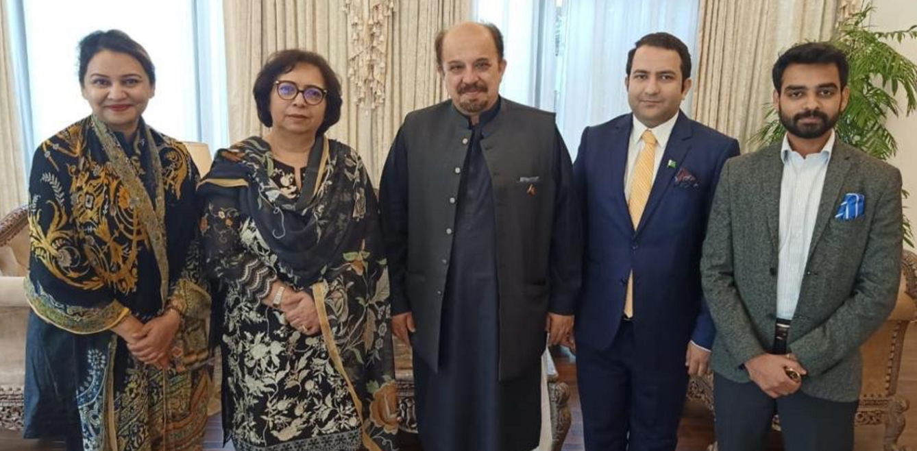 WPC Secretary meeting with Sindh Assembly Opposition Leader