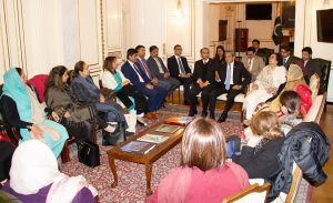 Women Parliamentarians UK visit (Day 3)