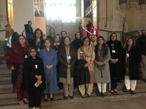 Women Parliamentarians visit to UK Parliament