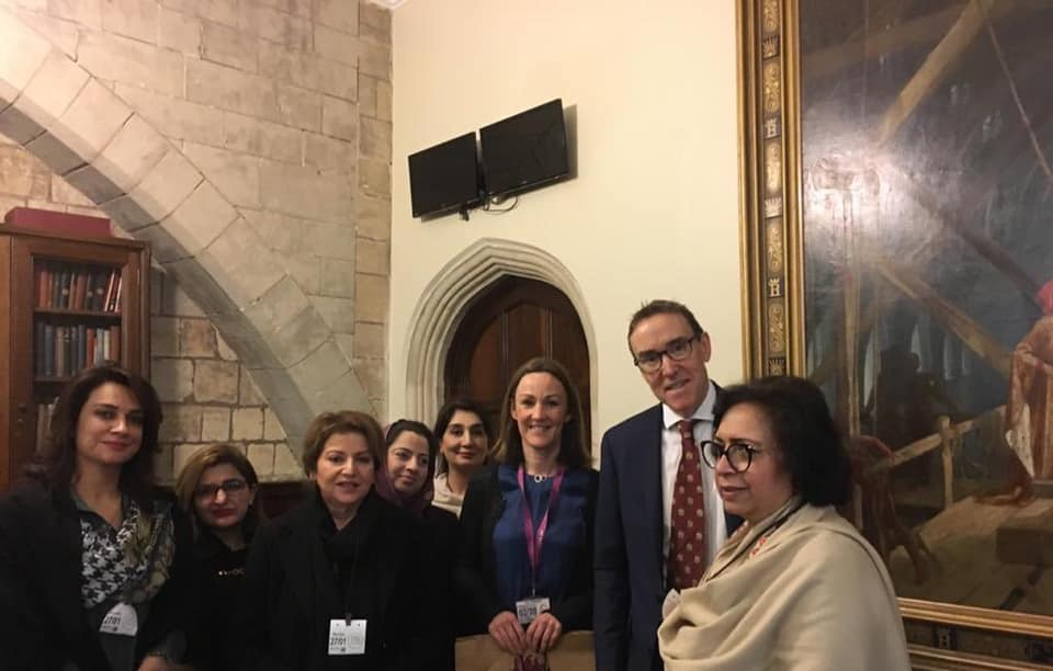 Women Parliamentarians UK visit Day 1