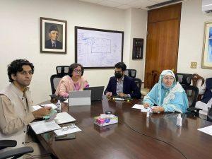Virtual Meeting between WPC Pakistan and WAC of Wolesi Jirga Afghanistan