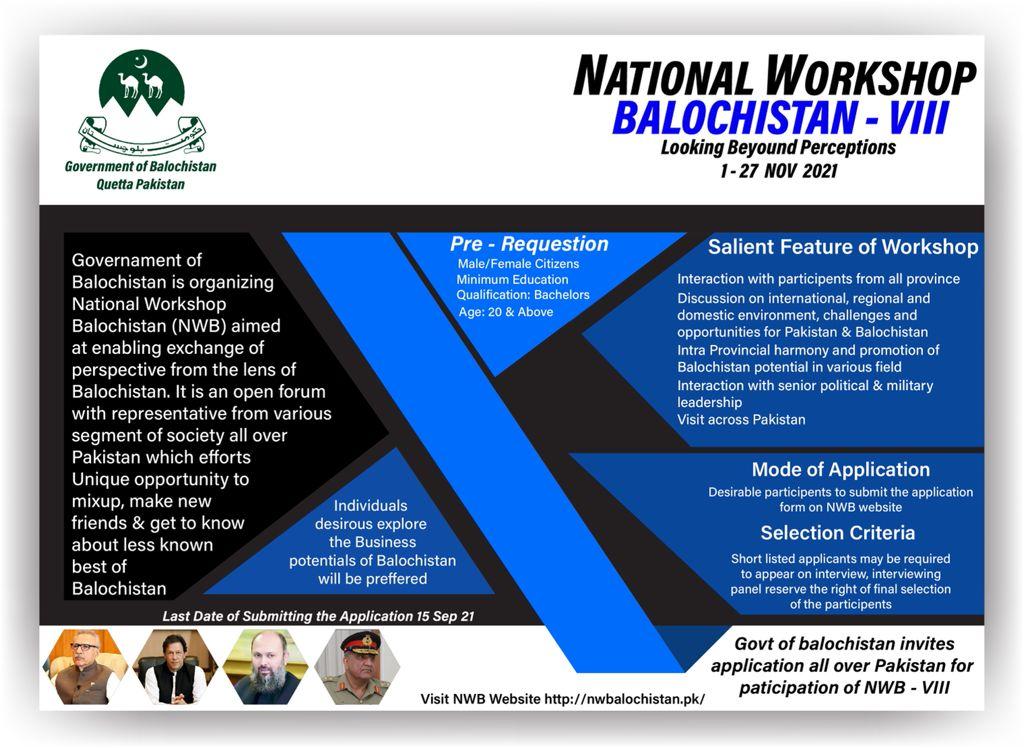 National Workshop Balochistan – VIII