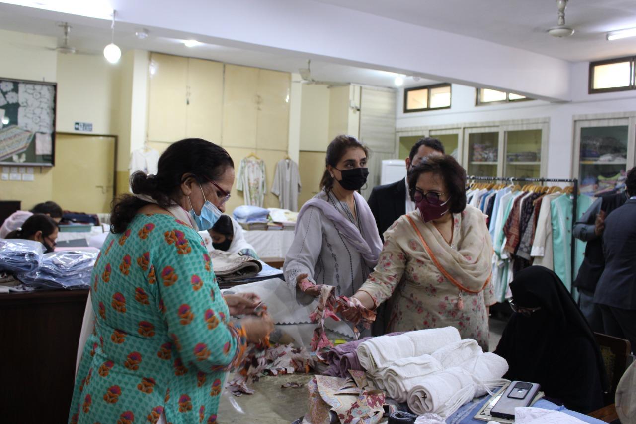 Behbud Craft Workshop Visit